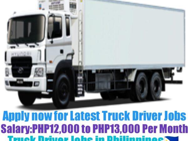 Premier Food Choice Truck Driver Recruitment 2021-22
