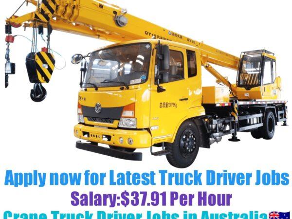 Dynamic Staffing Solutions Crane Truck Driver Recruitment 2021-22