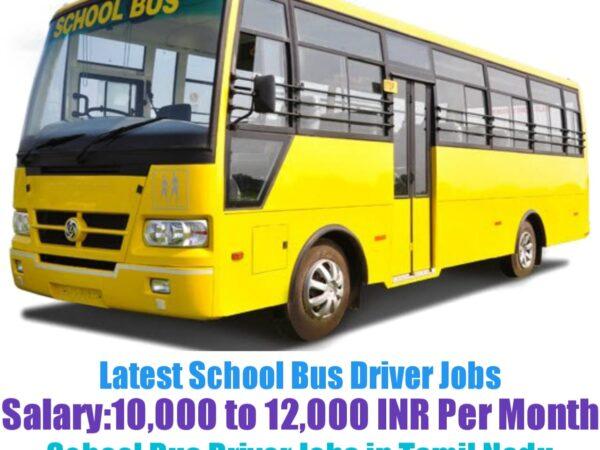 NRG Recruiter School Bus Driver Recruitment 2021-22