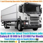 F and G Sourcing Specialist