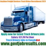 Anytime Freight Services