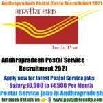 Andhra Pradesh Postal Circle Recruitment 2021
