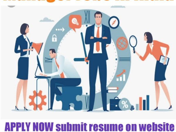 Manager Jobs in India 2021