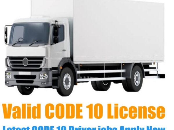 Code 10 Driver jobs in South Africa
