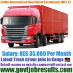 LifeNet International Truck Driver Recruitment 2021-22