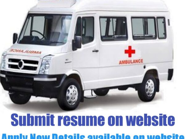 Ambulance Driver jobs in India 2021-22