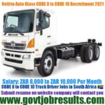 Veltrio Auto Glass CODE 10 Driver Recruitment 2021-22