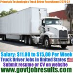 Primetals Technologies Truck Driver Recruitment 2021-22