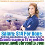 United Airlines Customer Service Representative Part-time Jobs in USA 2021-22