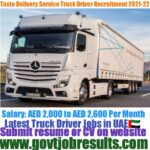 Taste Delivery Service