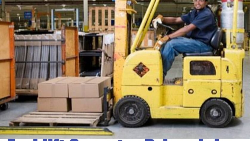 Forklift driver jobs