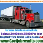 Professional Carriers Inc
