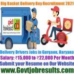 Big Basket UTL Delivery Boy Recruitment 2021-22