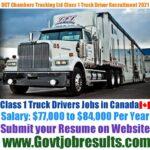 DCT Chambers Trucking Ltd