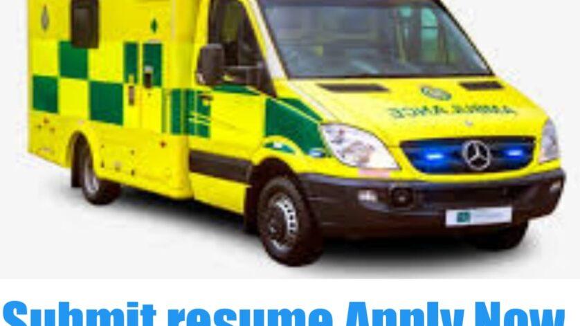 Ambulance Driver jobs in UK 2021