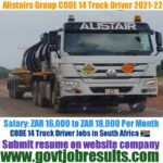 Alistair Group Truck Drivers Recruitment 2021-22