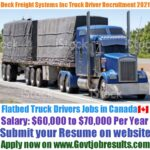 Deck Freight Systems Inc