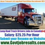 Ancor Transport Ltd