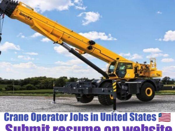 Crane operator jobs in USA
