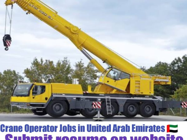 Crane Operator Jobs in UAE