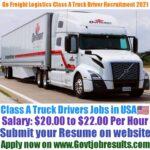 On Freight Logistics