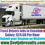 Shah Transport Ltd