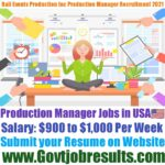 Rail Events Productions Inc